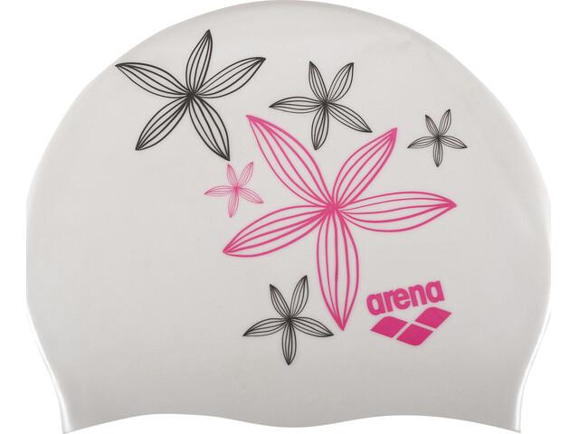 arena Sirene Cap Women hand draw-white